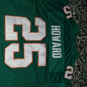best website dd7c5 df3f1 Xavien Howard retro Miami Dolphins football jersey